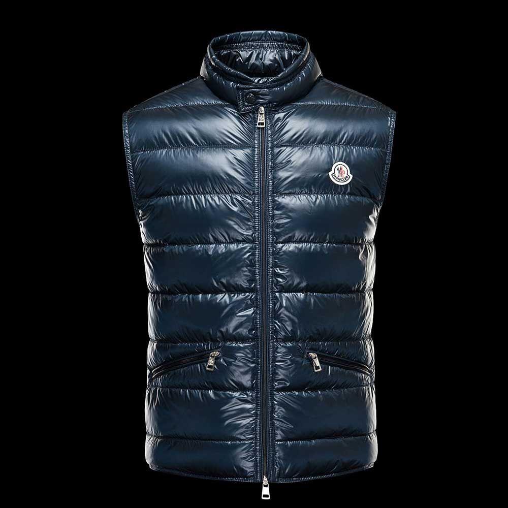 Moncler Yelek Lacivert - Moncler Gui Navy Blue #Moncler Mont & Yelek Modellerinde %60