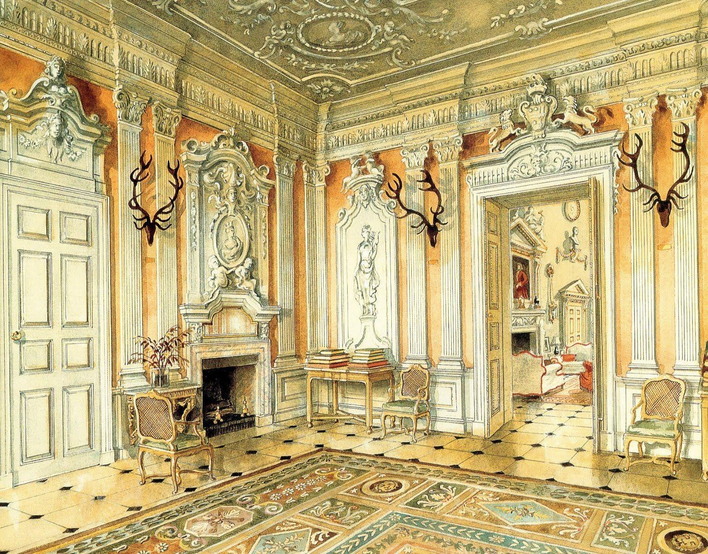 Alexandre Serebriakoff. Saloon Ditchley Park
