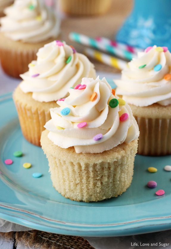 easy vanilla cupcakes without butter