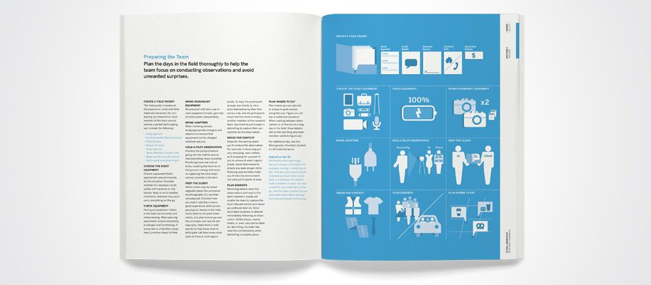Infographics As Section Intros  Employee Handbook Design