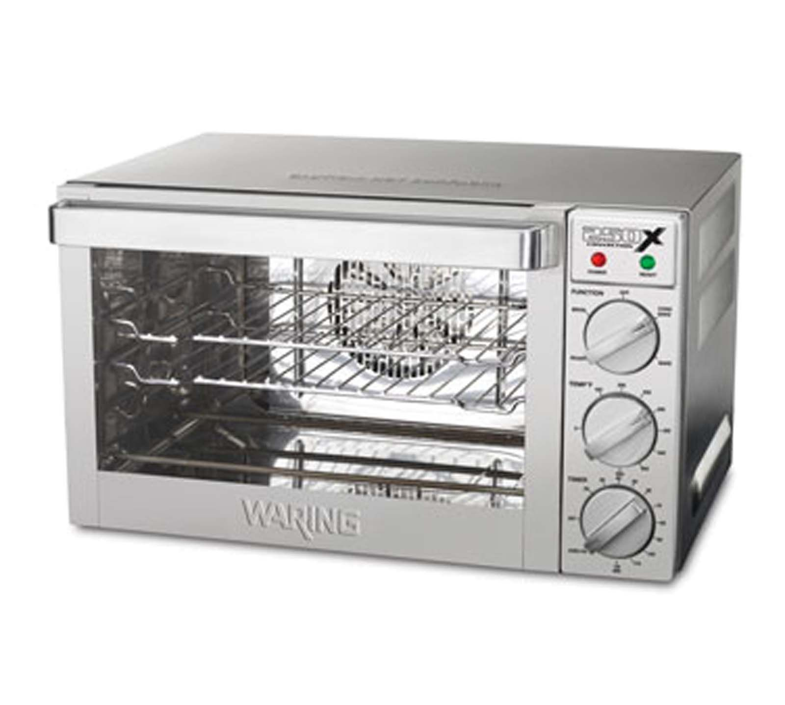 Waring Wco250x Commercial Convection Oven W 2 Chrome Plated
