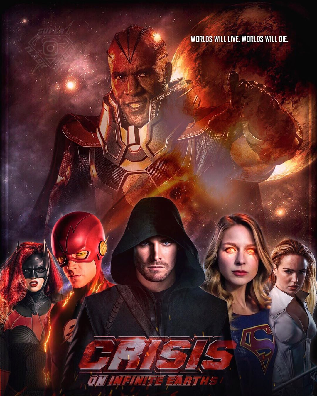 Another Crisis On Infinite Earths Fan Made Poster That Is