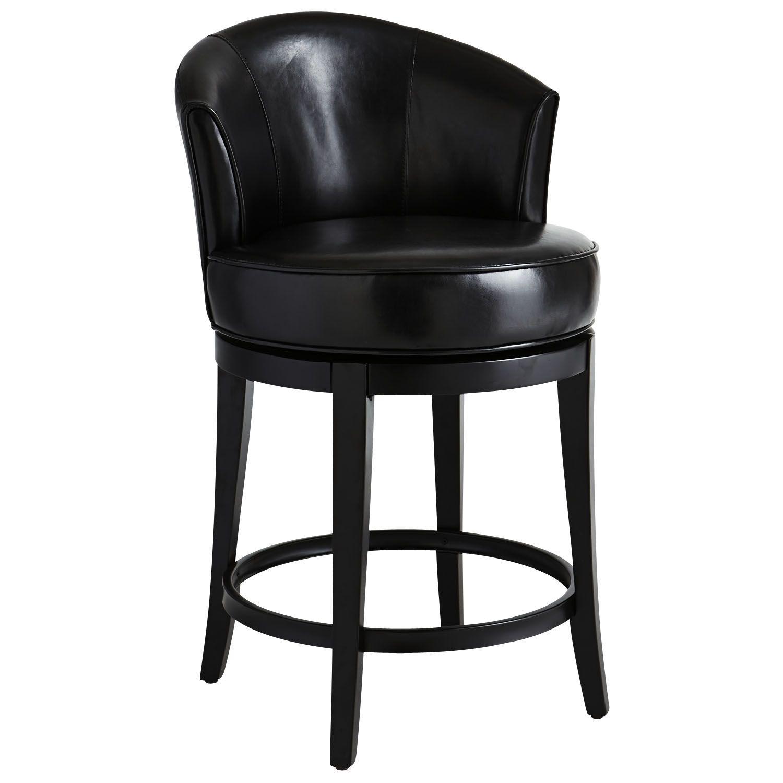 Isaac Swivel Counterstool Black Stool Living Room Stools Counter Stools [ 1500 x 1500 Pixel ]
