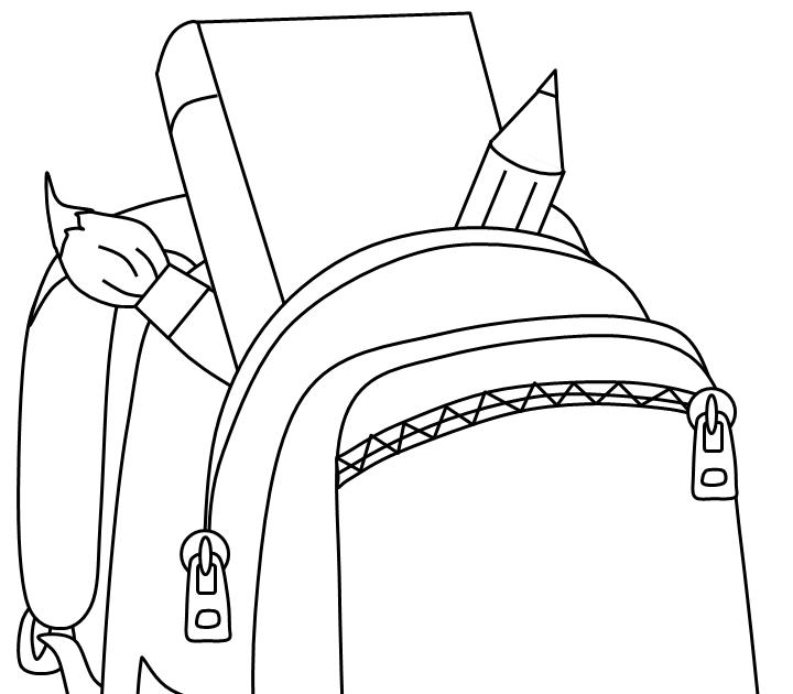Gambar Sketsa Tas Sekolah Yang Mudah Aneka Gambar Mewarnai Gambar Mewarnai Tas Sekolah Untuk Download Muat Turun Segera H Di 2020 Kartun Gambar Gambar Perspektif