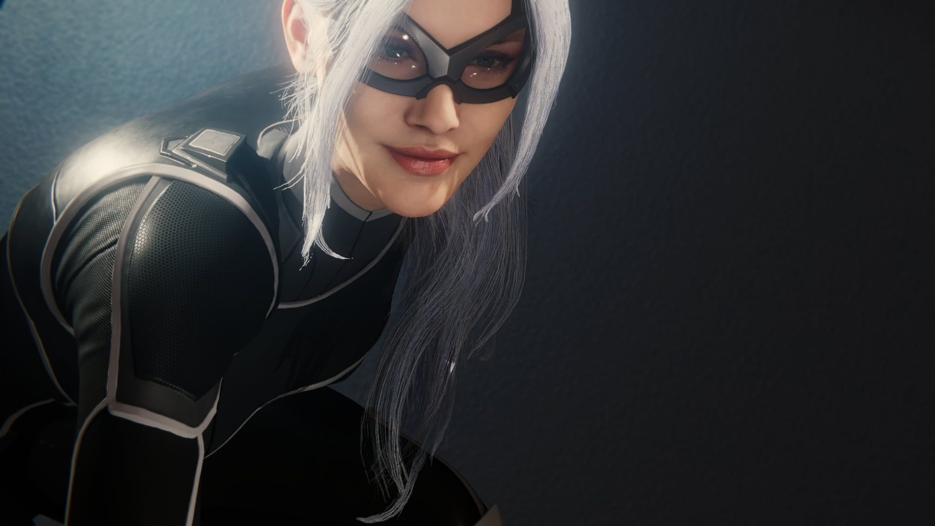 Spider Man Playstation 4 Marvel Comics Video Games Black Cat Character 1080p Wallpaper Hdwallpaper Desktop In 2020 Marvel Comics Cat Character Spiderman