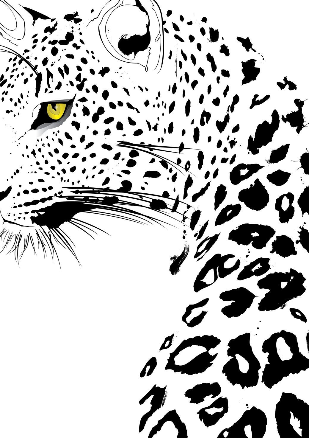 Big 5 Animals Silhouettes