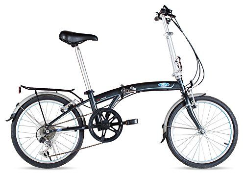 Ford By Dahon C Max 7 Speed Folding Bicycle 20 Gray You Can