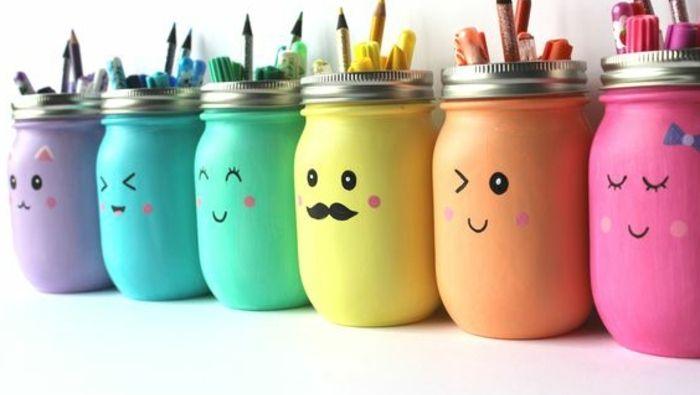 1001 id es pour fabriquer un pot crayon adorable soi. Black Bedroom Furniture Sets. Home Design Ideas