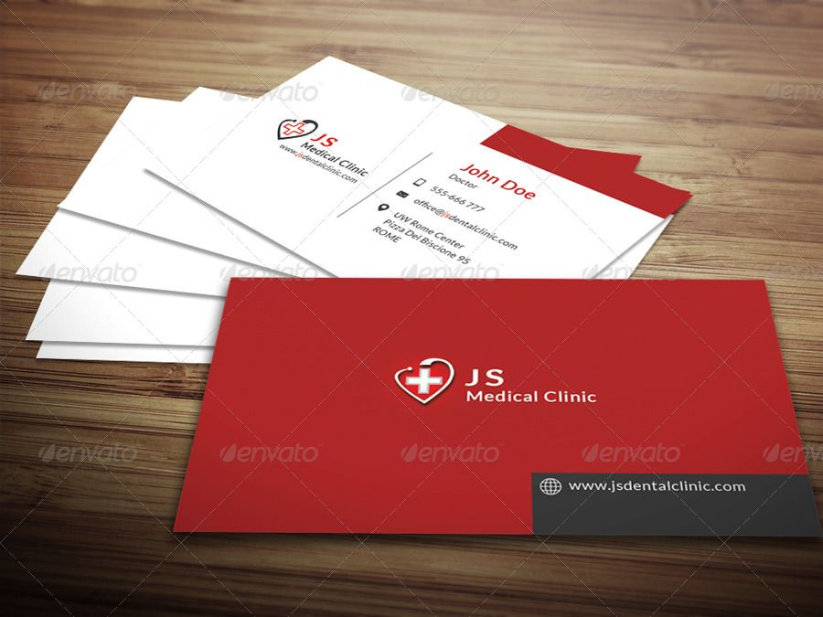 Medical Business Card  My Consult