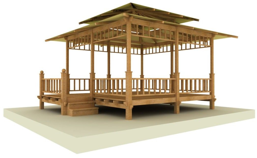 gazebo bois vente gazebo en bois exotique commander un pavillon de jardin am nagement de. Black Bedroom Furniture Sets. Home Design Ideas