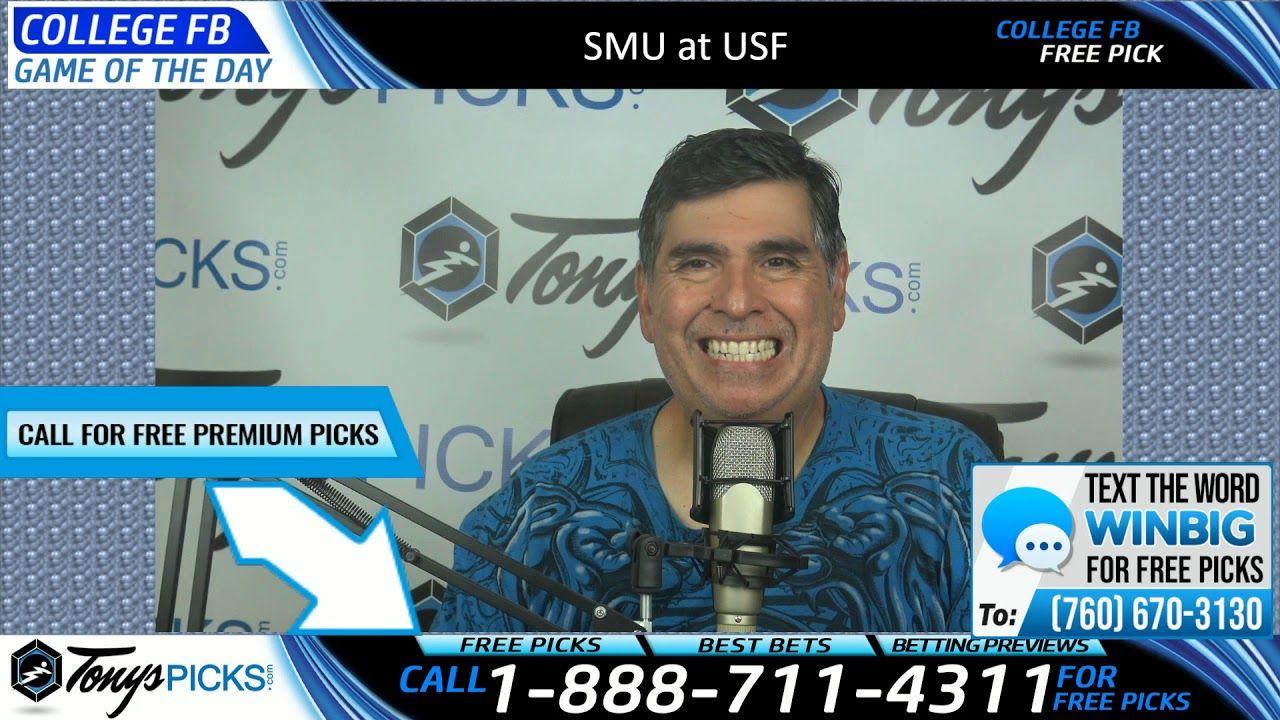 SMU vs. USF Free NCAA Football Picks and Predictions 9/28