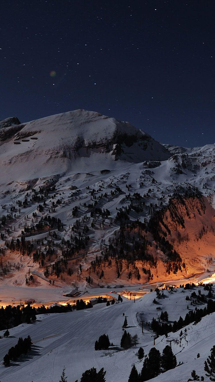 Winter iPhone Wallpaper 3 Зимние сцены