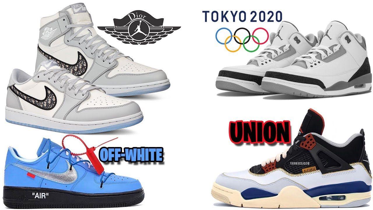 AIR JORDAN 3 TOKYO, DIOR JORDAN 1 LOW