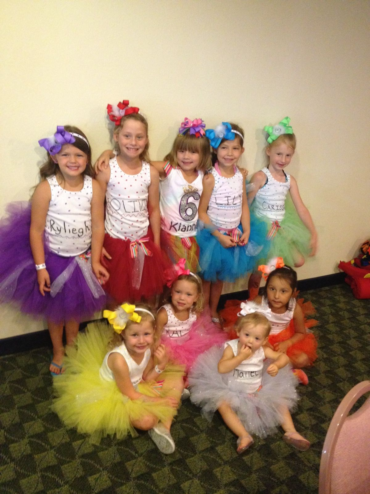 Tutu 6th birthday party idea all girls feel special and the