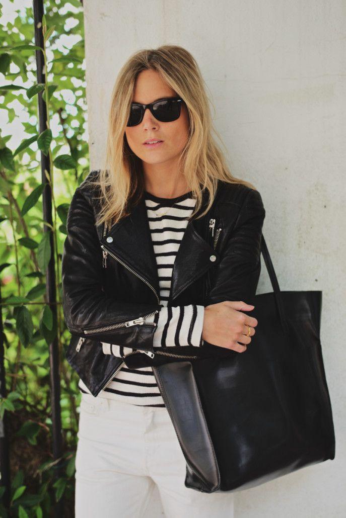 black + white. #streetstyle