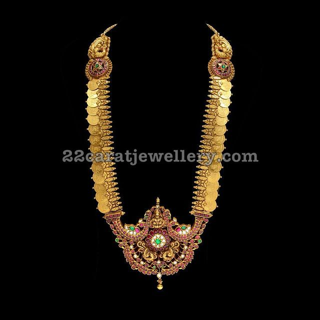Top 9 Latest Designs By SRJ Fine Jewelry Gold Necklace designs