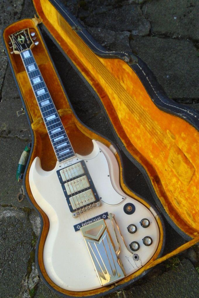1961 Gibson Les Paul (SG) Custom | andrewaward #vintageguitars
