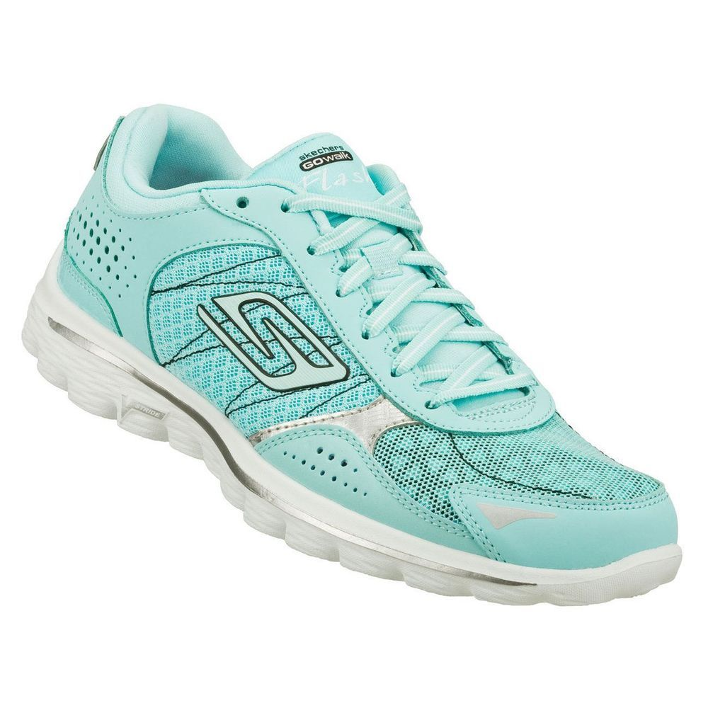 Skechers Go Walk 2 Flash Womens Mint Green I Have These And They
