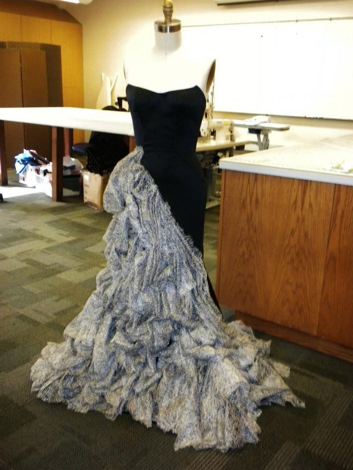 """My dress for the """"Apocalypse After 5"""" Competition. #Post-Apocalyptic Couture"""