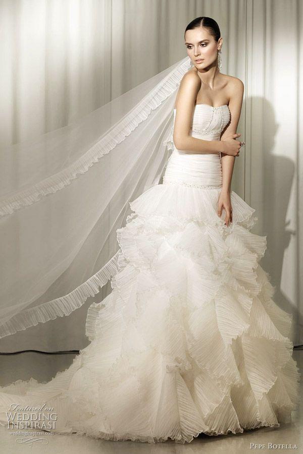 #PepeBotella 2012 bridal collectio