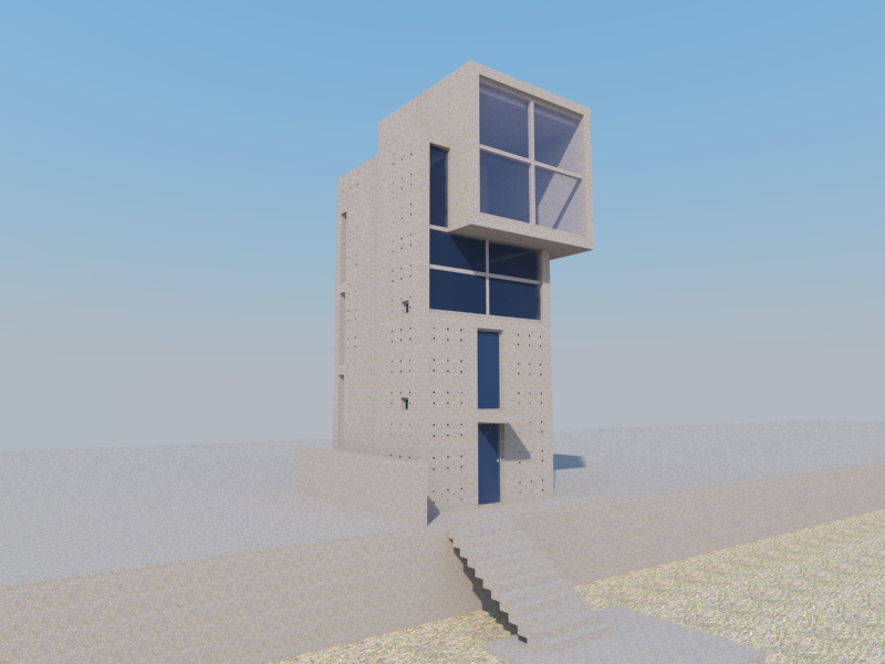 Best Tadao Ando 4X4 House With Images Tadao Ando 640 x 480
