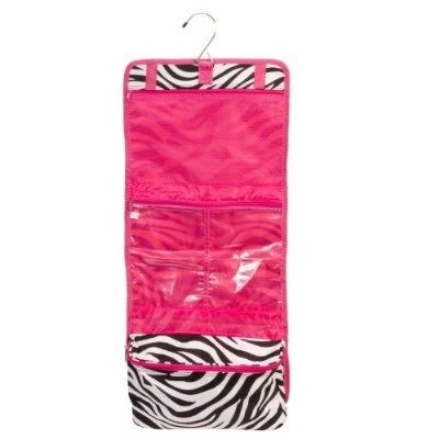 cool Zebra Hot Pink Makeup Cosmetic Bag Case Large - For Sale Check more at http://shipperscentral.com/wp/product/zebra-hot-pink-makeup-cosmetic-bag-case-large-for-sale/