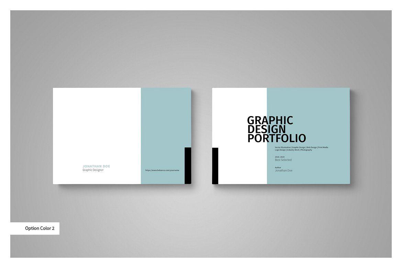 Graphic Design Portfolio Template Portfolio Template Design Portfolio Templates Portfolio Cover Design