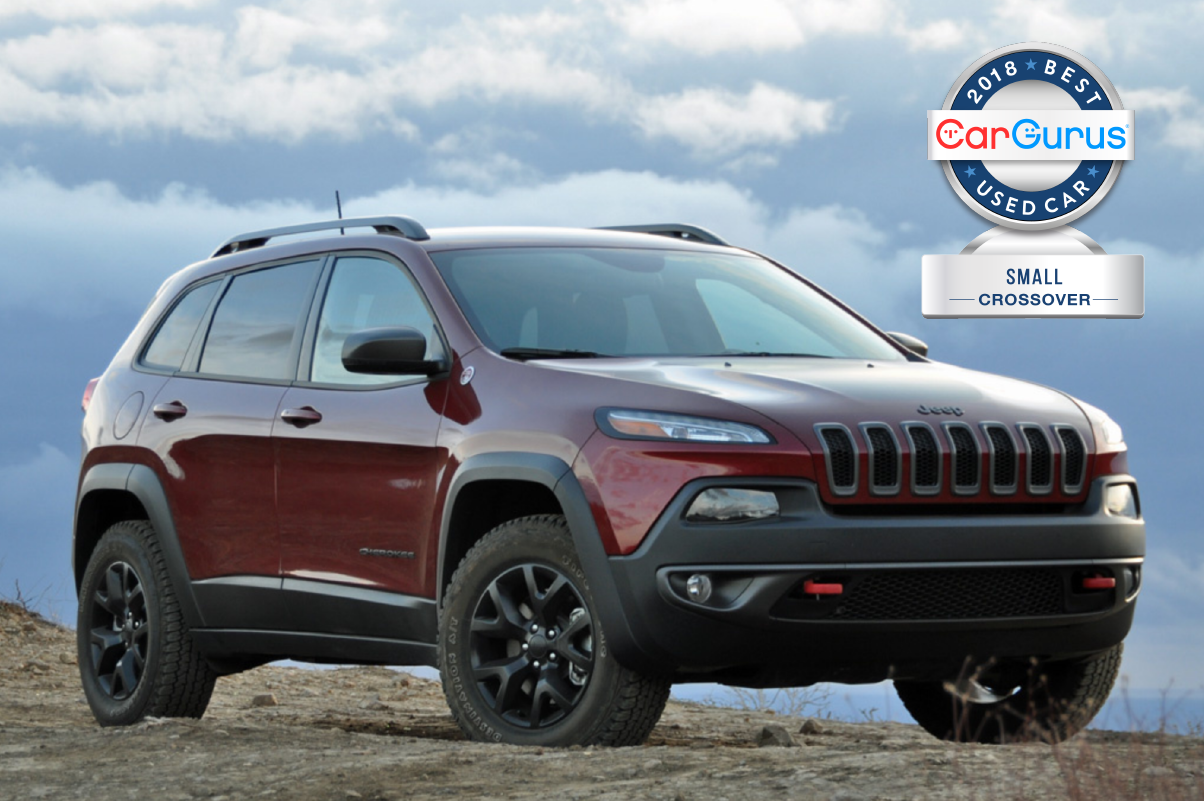 Cargurus 2018 Used Car Awards Goes To The Jeep Cherokee For Best