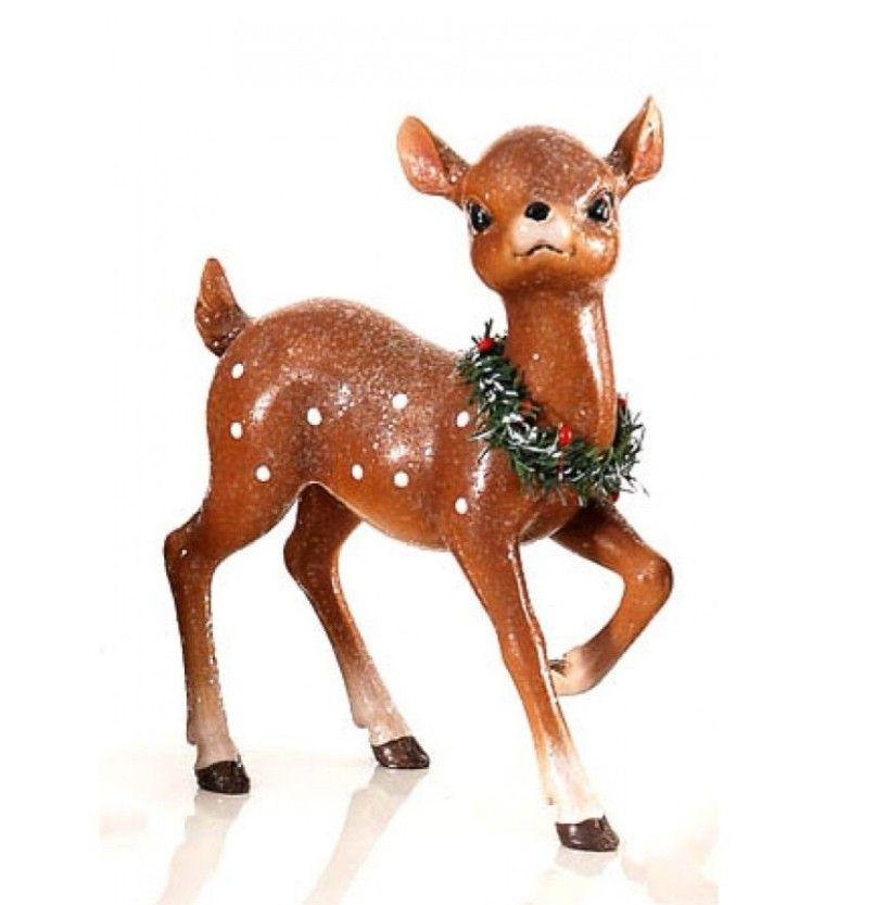 Bambi - Faon - Décoration noël 2019 - Déco noël 2019 - Joyeux noël 2019  #marchédenoel