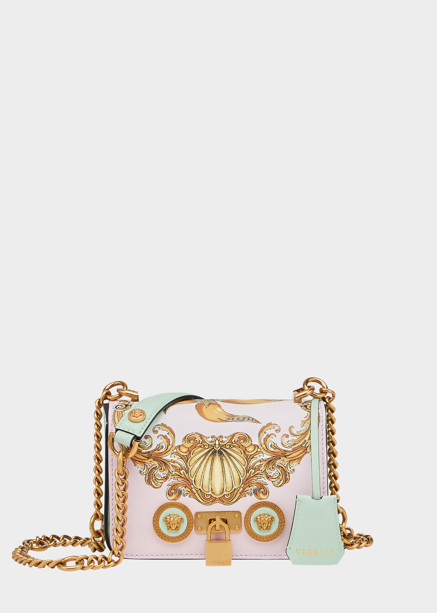 76691f0f6cf8 Versace Маленькая сумка Trésor de la Mer Icon для женщин | Официальный  веб-сайт
