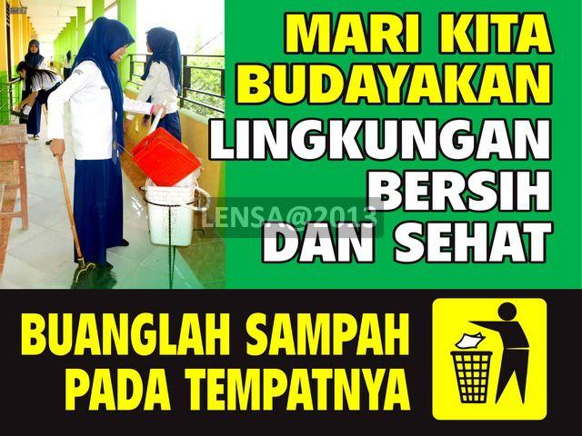 Contoh Poster Kebersihan Lingkungan Sekolah Http Ahmadjn Com