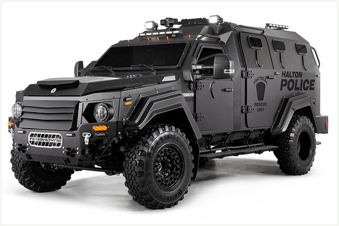 Studio Photography of Armoured Police Vehicle (MPV) | BP imaging