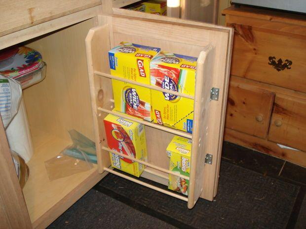 Homemade Kitchen Cabinet Door Organizers Pinterest Door