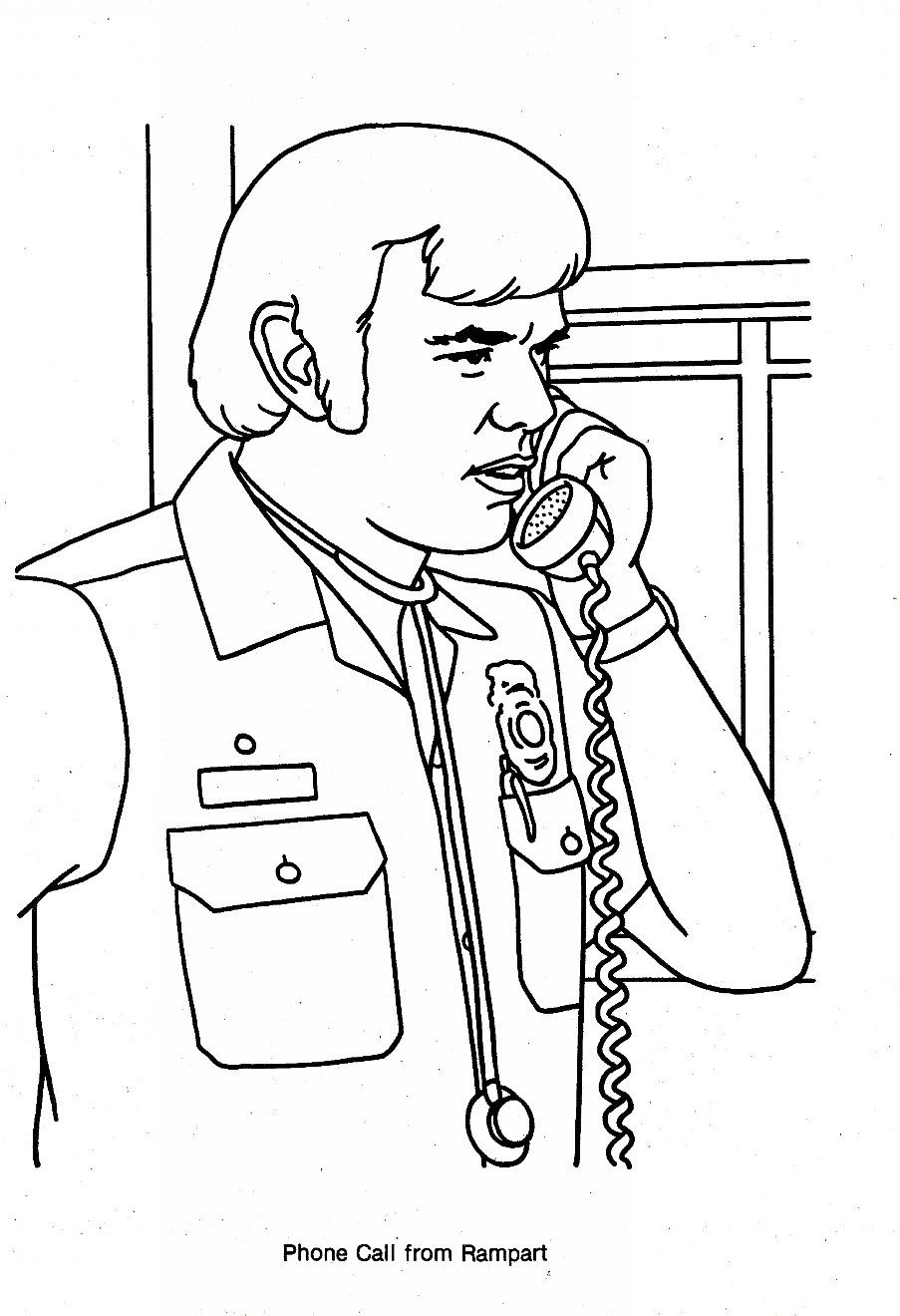 Malvorlagen Tv: Emergency TV Show Coloring Pages