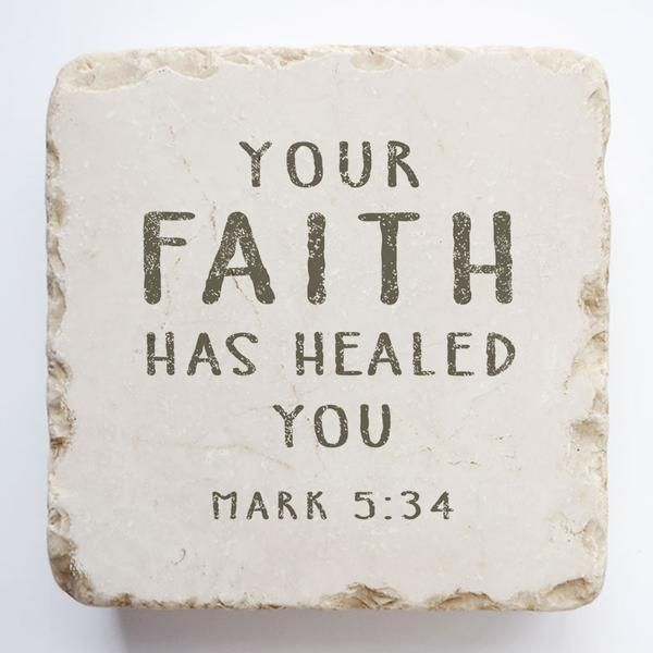 Mark 5:34 - Large Block