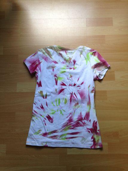 Berühmt Batik Shirt -Einfach und schnell -ohne Batikfarben | Kinder WB12