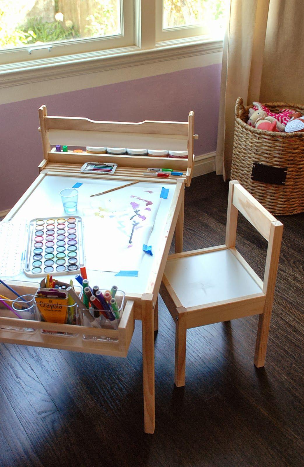 Design ingenuity diy kids craft table playroom for Raumgestaltung ikea