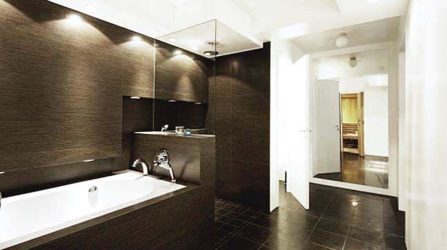 Pin de bonita decoracion com en interior design ideas - Modelos de cuartos de bano ...