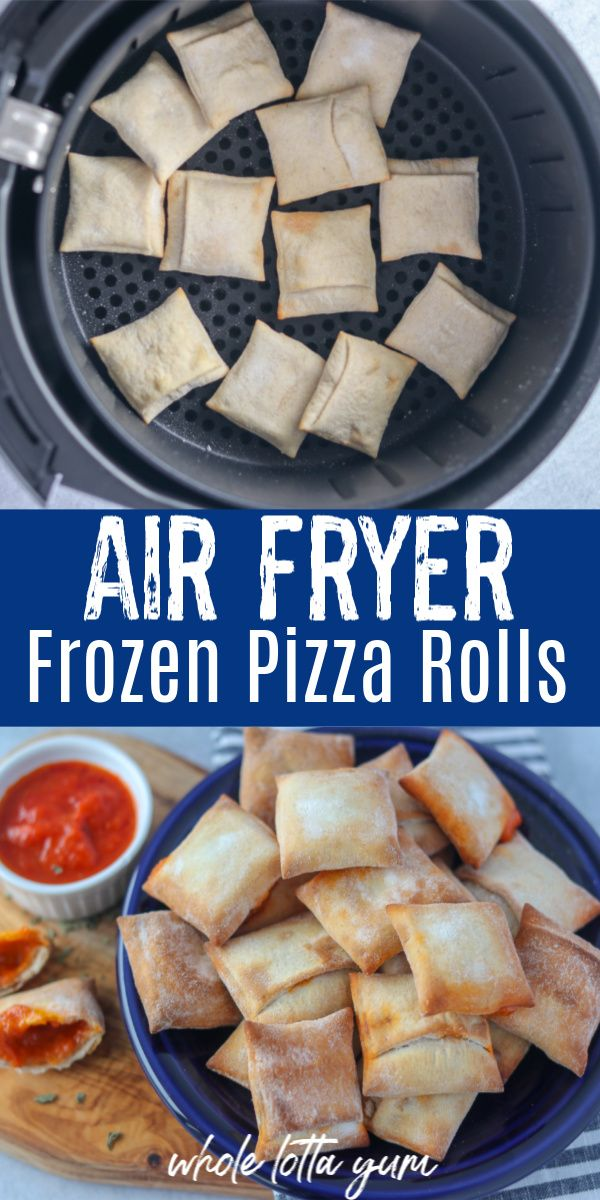 Air Fryer Pizza Rolls in 2020 Air fryer recipes healthy