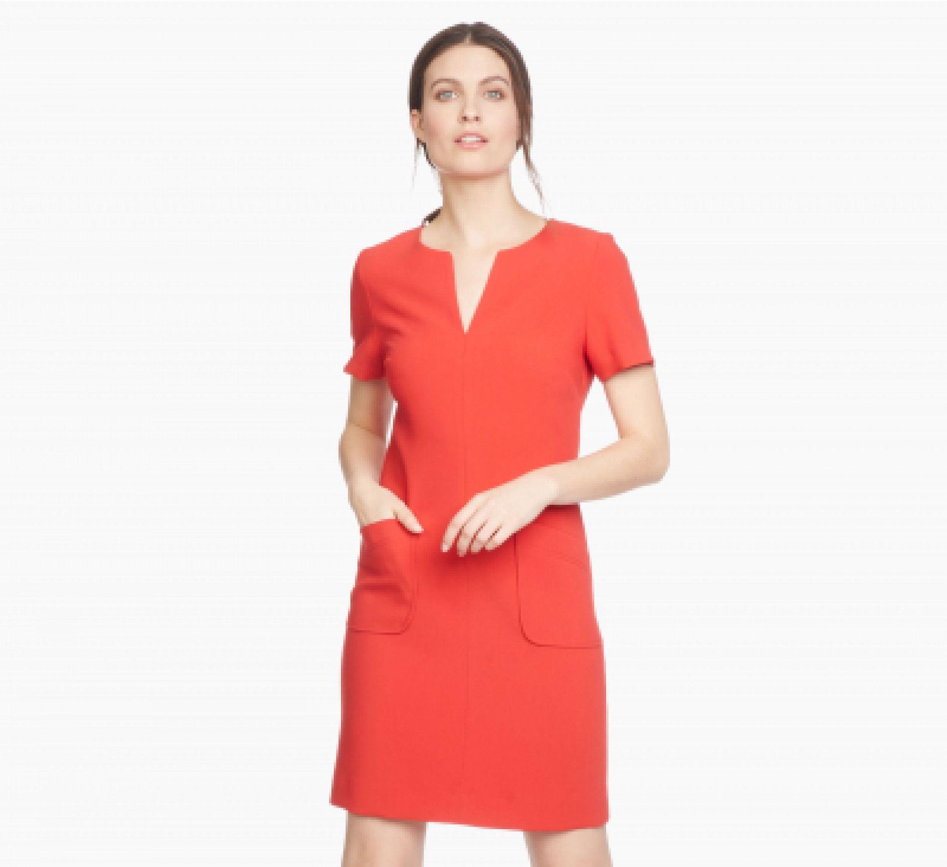 4e378c1912e Robe bustier rouge caroll – Robes chères 2018