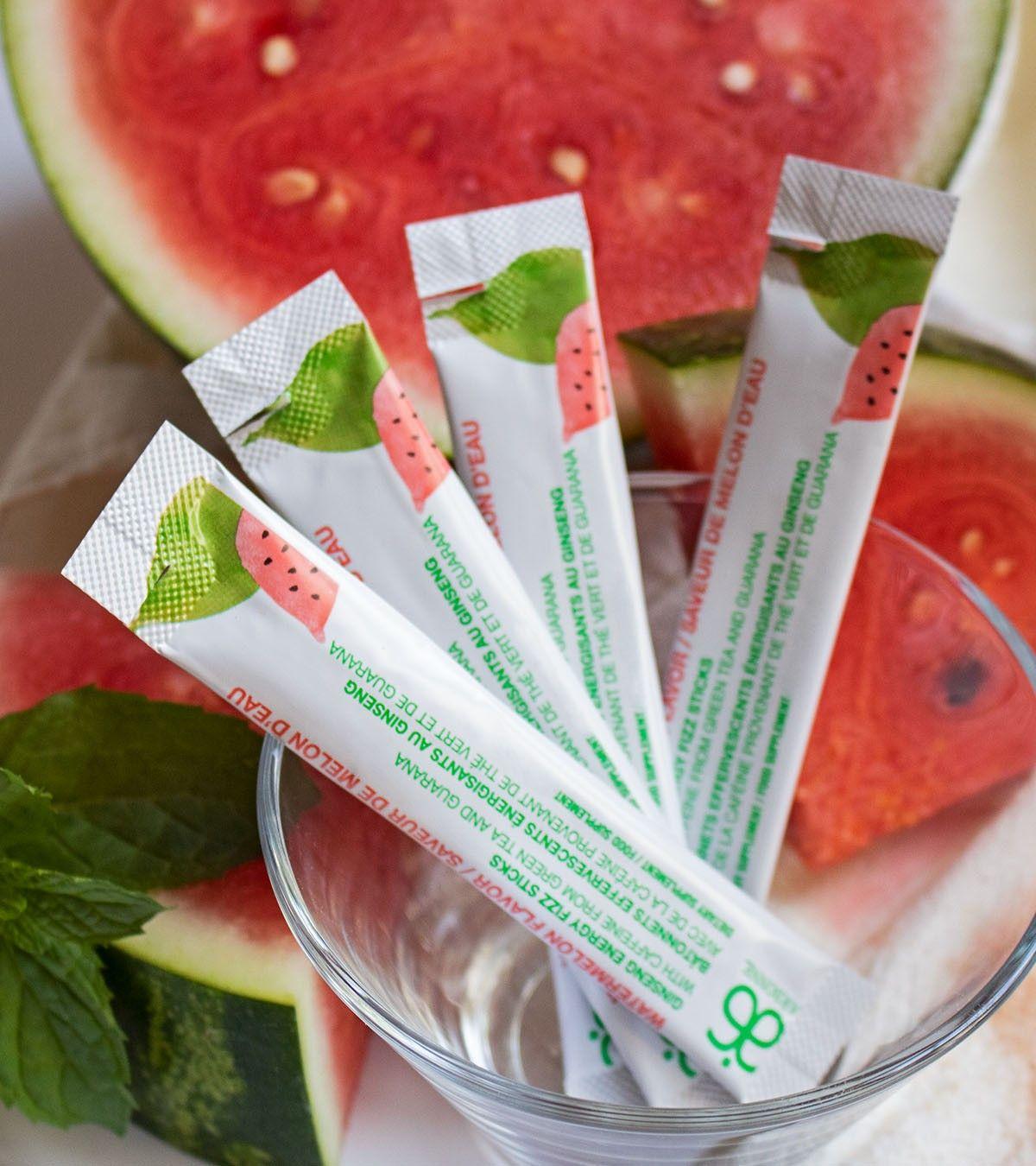 New Limited Edition Ginseng Energy Fizz Stick Watermelon Flavour In 2020 Fizz Fizz Sticks Arbonne Nutrition
