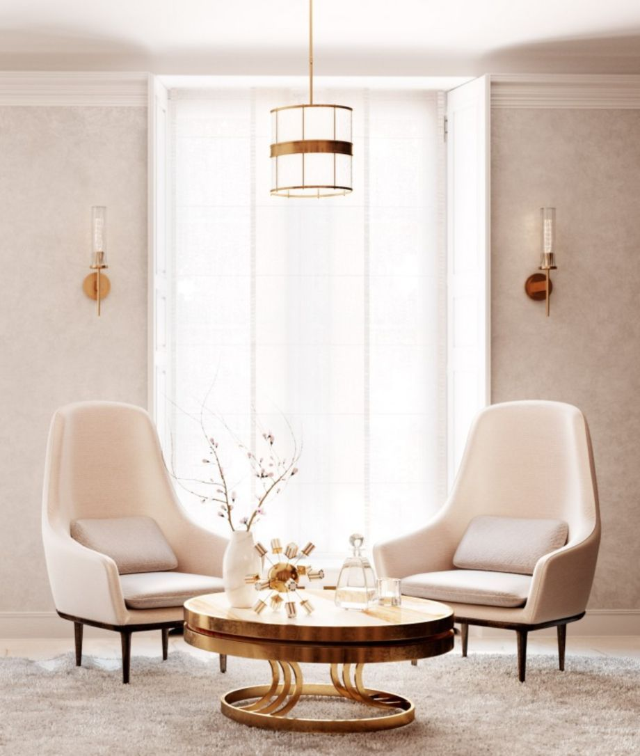 80 Stunning Round Coffee Tables Living Room Ideas