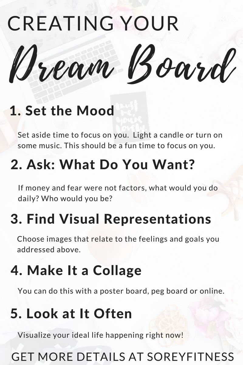 How to Make a Vision Board in 5 Simple Steps - Dream Board ...