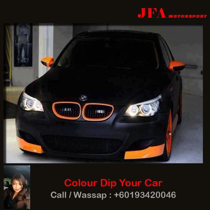 Bmw Color Dip Your Car Call Whatsapp 0193420046 Plastidip