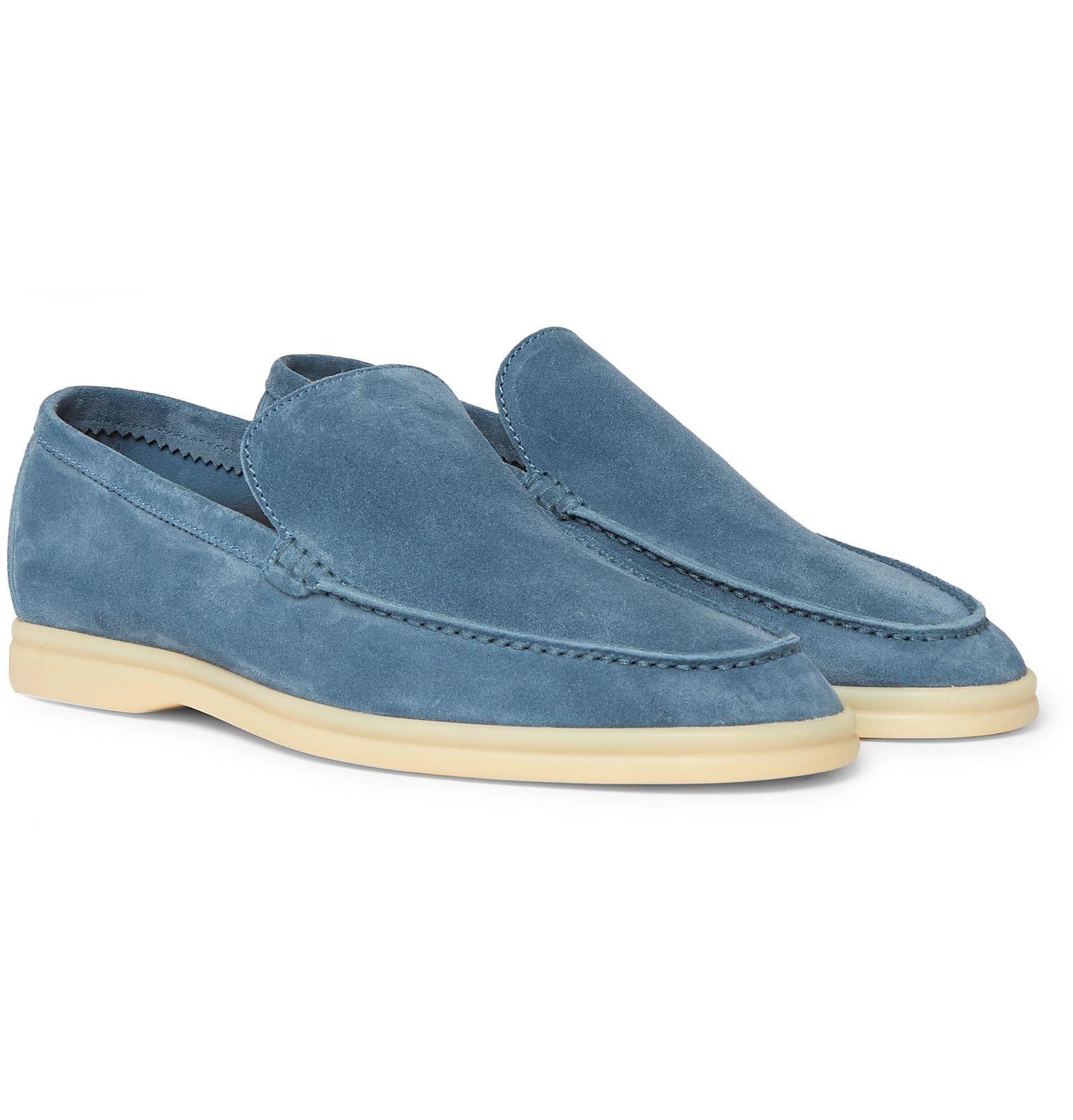 40e0481e6570f Loro Piana - Summer Walk Suede Loafers | My Style in 2019 | Suede ...