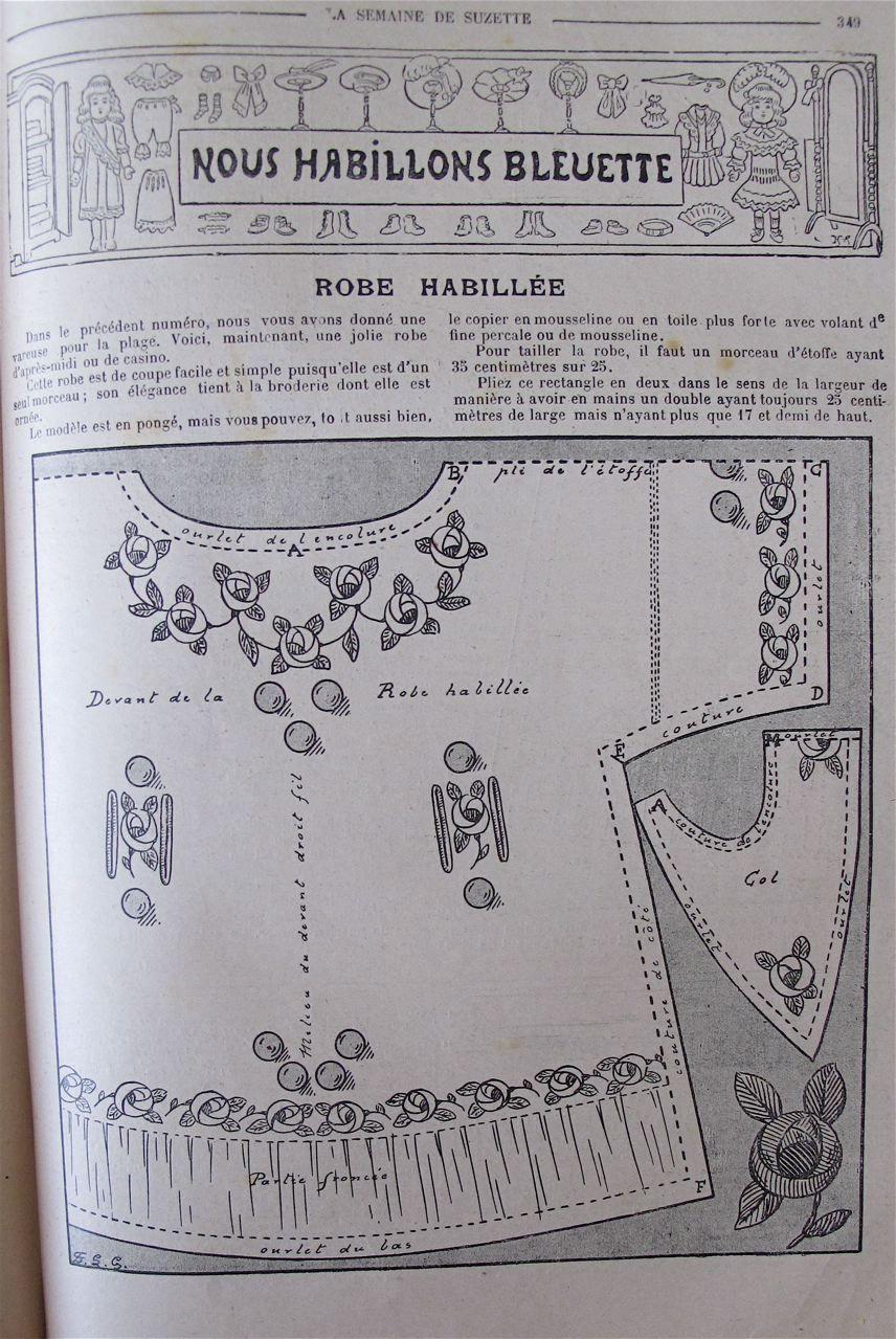 Bleuette the famous little Blueberry of France by Susan Hale - Dolls' Houses Past & Present
