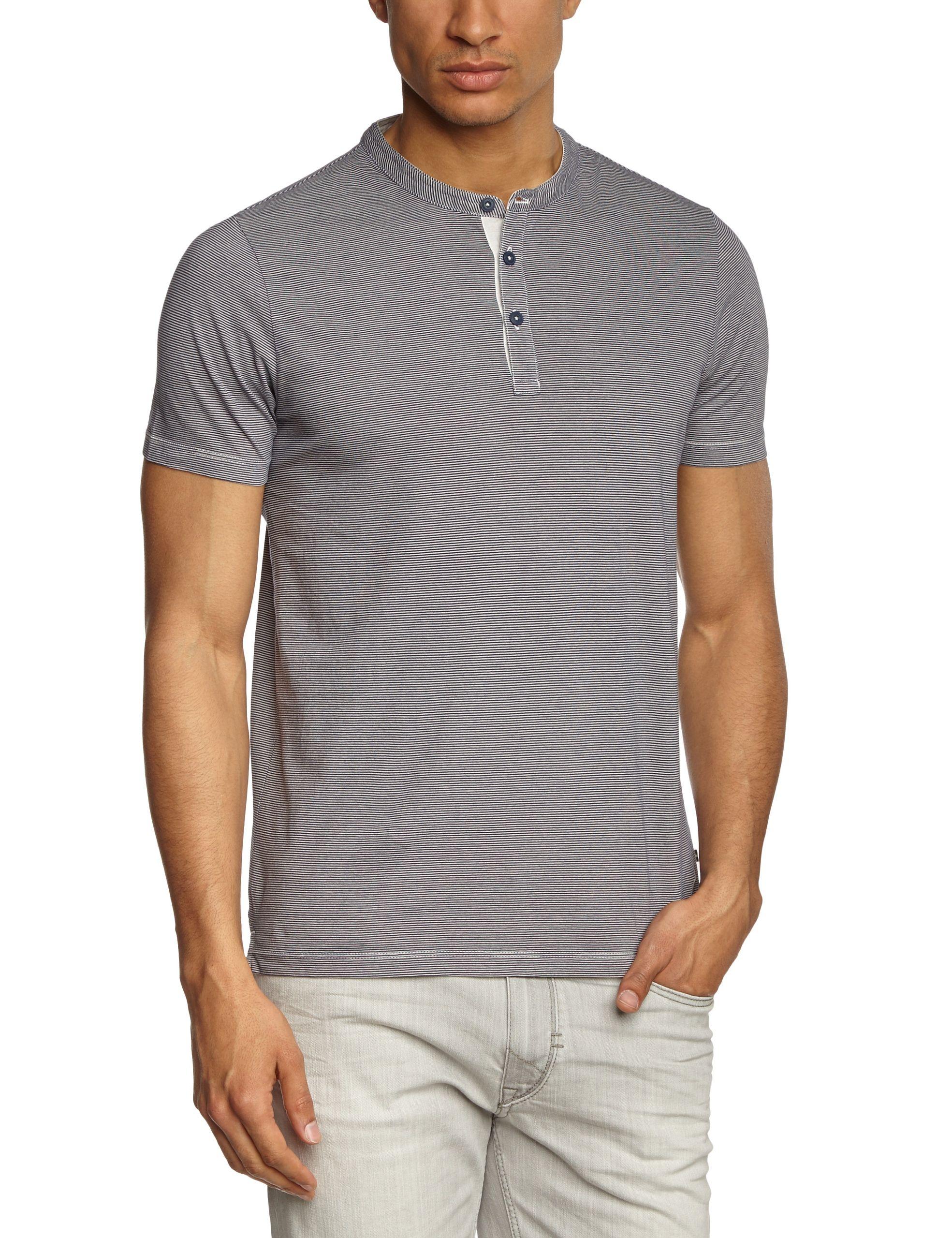 0cd80f505 Marc O Polo • Camiseta de manga corta con cuello con botones para hombre