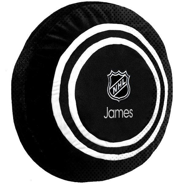 NHL Personalized Plush Hockey Puck - Black
