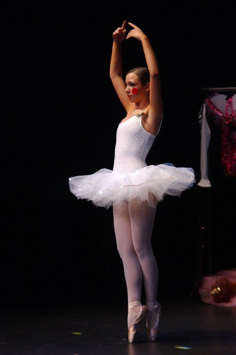 Sexy new instructor for a ballerina
