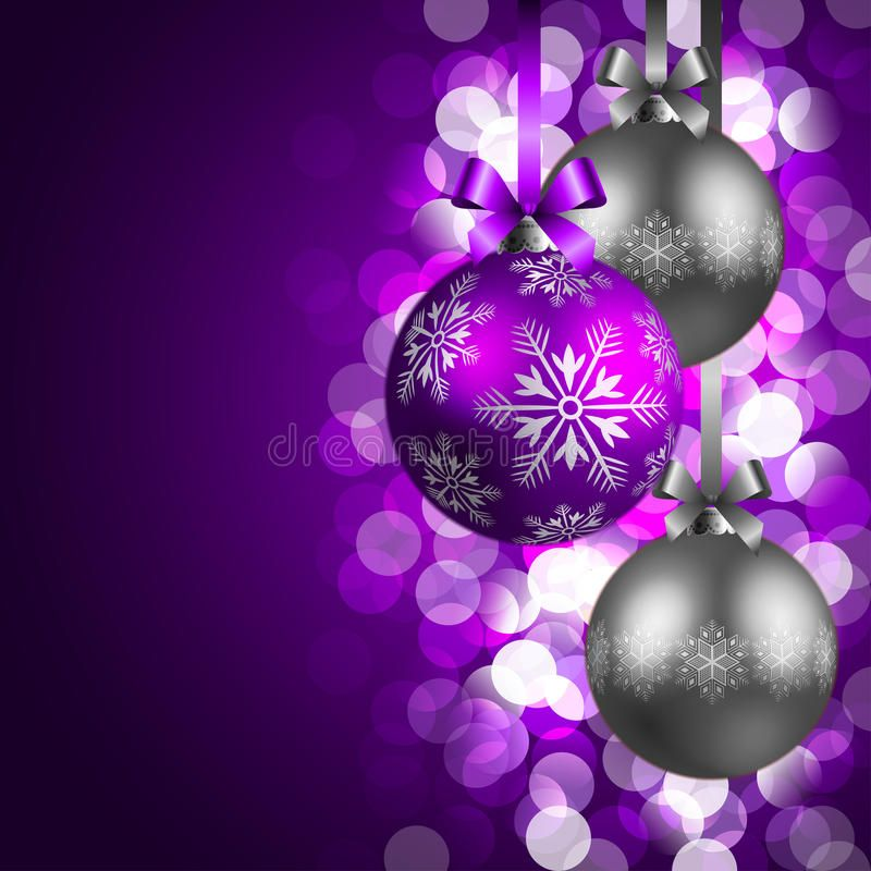 Christmas background stock vector. Illustration of blurred - 17417328